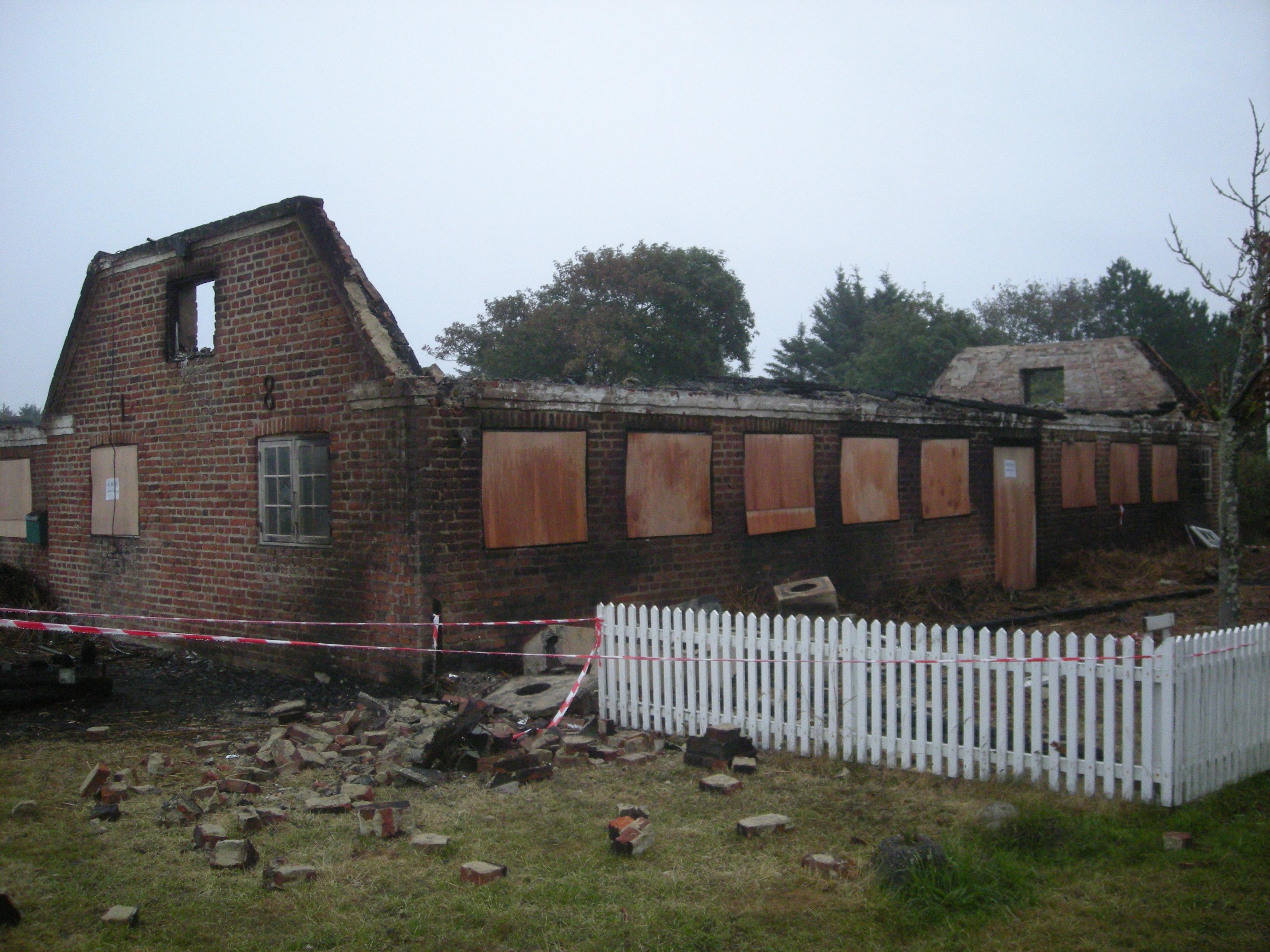 Kroen brændte i 2013, men i 2015 er den genåbnet efter et stort genopførelsesarbejde.